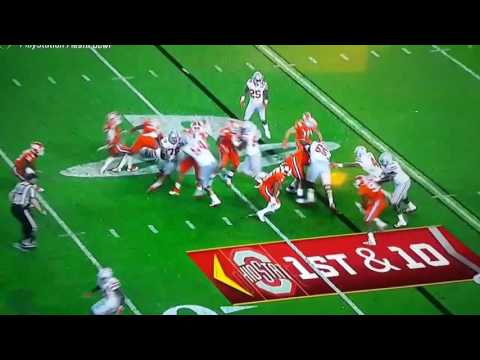 Download OSU vs CLEMSON #42 GRABBING a little more than the football last night. HD Mp4 3GP Video and MP3