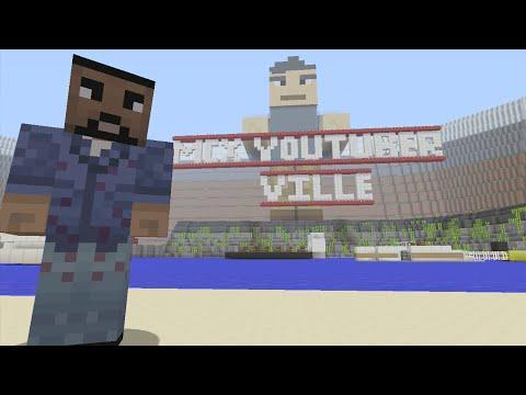 Minecraft (Xbox 360) - MCX Youtuber Ville - Hunger Games - Part 1