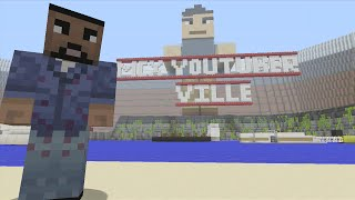 Minecraft (Xbox 360) - MCX Youtuber Ville - Hunger Games - Part 1