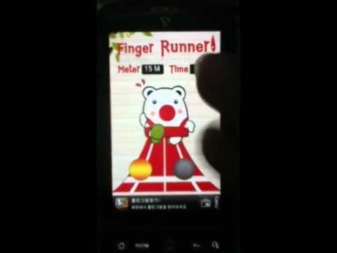 Video of Finger Runner2
