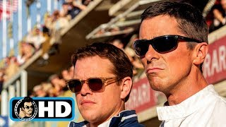 FORD V FERRARI All Clips, Trailers & B-Roll (2019) by JoBlo Movie Trailers