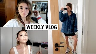 WEEKLY VLOG l meetings, fitness, what I eat, etc.