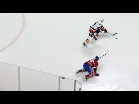 Video: Tavares scores breakaway after jumping on Galchenyuk's brutal pass