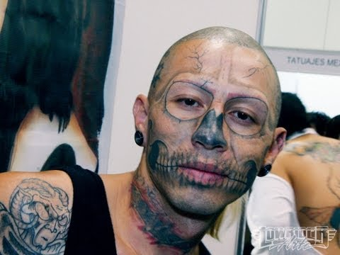 Face Tattoo Compilation – Art or Insane?