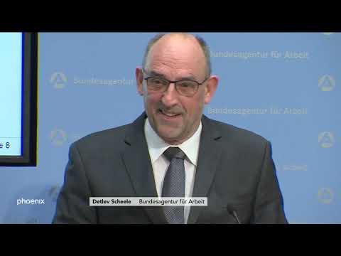 Chef der Bundesagentur für Arbeit Detlev Scheele zu d ...