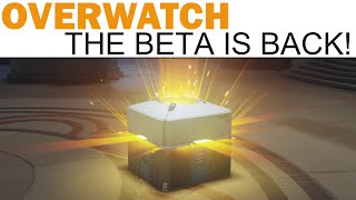 Overwatch Beta - Progression System, Loot Boxes, New Maps / Game Mode & More!, Blizzard Entertainment, World of Warcraft