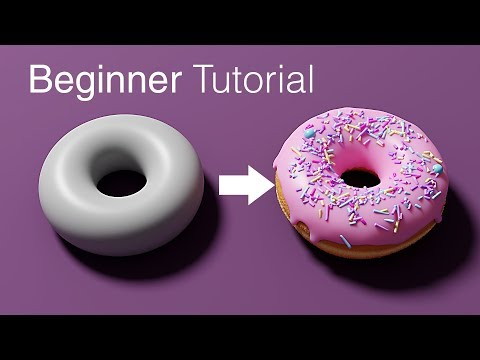 Beginner Blender Tutorial - Part 1