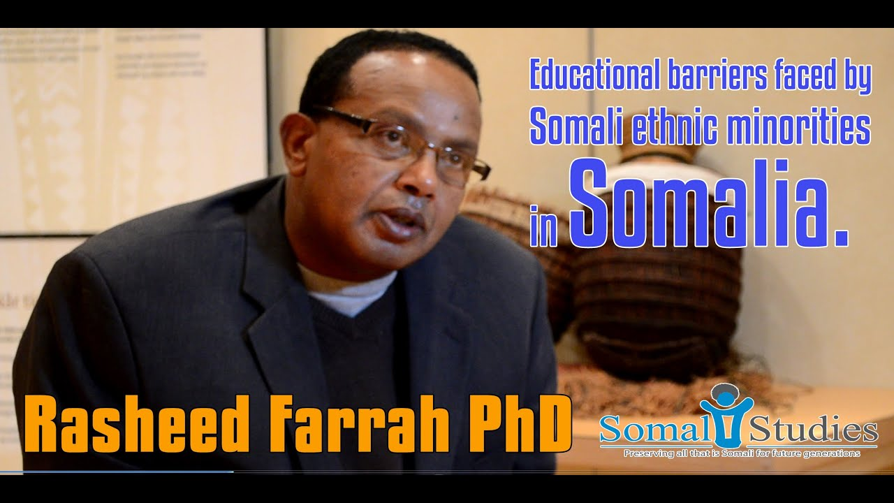 Educational barriers faced by Somali ethnic minorities in Somalia