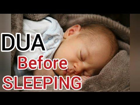 DUA before SLEEPING - With Hadith audio translation - Original
