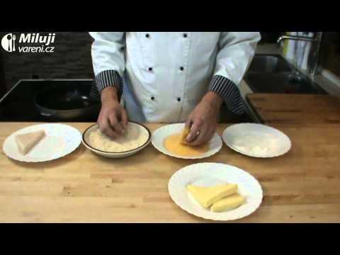 Smažený obalovaný sýr