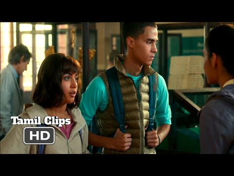 Dora And The Lost City Of Gold (2019) -. School Project Scene Tamil [3/12] | MovieClips Tamil