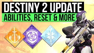 Destiny 2 Info Update - Super and Ability Cooldown Perks, Weekly Reset News, An End to Menu Kicking & Another TTK Subclass Hint!▻ LATEST DESTINY 2 GUIDEShttps://www.youtube.com/playlist?list=PL7I7pUw5a282KrtVZEeCChYgyjsa3kd_2▻Use code 'Houndish' for 10% off KontrolFreek Productshttp://www.kontrolfreek.com?a_aid=Houndish▻SUBSCRIBE for more destiny videoshttps://www.youtube.com/subscription_center?add_user=Houndishgiggle1910▻SAVE 5% ON DESTINY 2 FOR PC https://uk.gamesplanet.com/game/destiny-2-battlenet-key--3314-1?ref=hound▻Say Hi on Twitterhttps://twitter.com/xHOUNDISHx- If you enjoy my content, consider checking out my Patreon page. You can support the channel and earn awesome rewards. I appreciate you all regardless :) https://www.patreon.com/Houndish- Music: Lensko - Circles & Veorra - Home