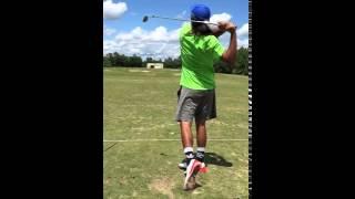 Anthony Lucero Golf Swing