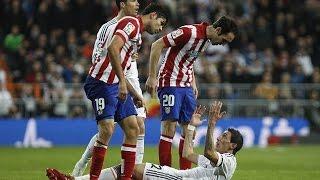 Video El Derbi - Real Madrid vs. Atletico Madrid (Fights, Fouls, Red Cards) MP3, 3GP, MP4, WEBM, AVI, FLV April 2018