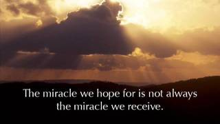 What's the Miracle's Cost, Inspirational Stories