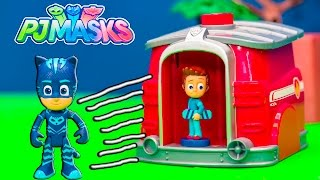 Paw Patrol and PJ Masks Romeo is trying to steal!! Please Subscribe Here http://www.youtube.com/user/TheEngineeringFamily?sub_confirmation=1Check out our second channel - https://www.youtube.com/channel/UCPC55dCdzIjNJd421LbK3uwIn this Disney PJ Masks YouTube video toy parody from The Engineering Family Romeo is trying to steal food when Disney PJ Masks have to stop him! Someone will get slimed but who will it be? Catboy, Owlette or Gekko? Check out some of these other fun TheEngineeringFamily Treasure HuntsDISNEY SURPRISE TREASURE Secret Surprise Treasure with the Assistant a Disney World Video Surprise   https://youtu.be/a3c5pAJ-o-kPJ MASKS Disney Search For PJ Masks with Blaze and Paw Patrol Video  Adventure   https://youtu.be/4mV2sNE14PgAssistant Slip N Slide Bounce House Carnival Challenge Surprise Toys Video  https://youtu.be/HKE2lCvb6fMASSISTANT TREASURE HUNT Paw Patrol Look Out Hunt + toysZootopia + Lion Guard Toys Surprise Video  https://youtu.be/ECgPK35Gw3wOr these Playlists!  Funny Kids Videos     https://www.youtube.com/playlist?list=PLoLQ9unpi4OHXhaMeWT2y6P27pbuzKbckFeaturing the Assistant   https://www.youtube.com/playlist?list=PLoLQ9unpi4OGfgjxJsWnO878aLXo2TgXHAbout The Engineering FamilyWe are The Engineering Family, a family of educators working to show you how to make learning fun and engaging through toy unboxings, toy reviews, and original series designed to insight imaginative play within your family. With Mr. Engineer as an experienced engineer with a love of exploring new things, Mrs. Engineer an award winning teacher with a math and counseling focus, and their daughter The Assistant you can think of The Engineering channel as your imagination station. You can think of The Engineering Family channel as a Funbrain meets YouTube. This family is taking some of the coolest toys like Paw Patrol, Shimmer and Shine, Scooby Doo, PJ Masks, Doc Mcstuffins, and plenty of fun Real Life live action videos that help teach children valuable STEM content. As always... TheEngineeringFamily only features 100% suitable family fun entertainment.