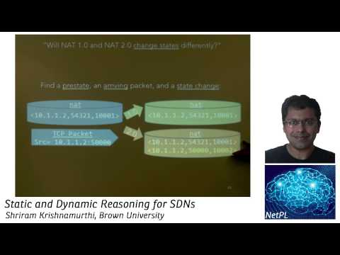 Shriram Krishnamurthi - Static and Dynamic Reasoning for SDNs