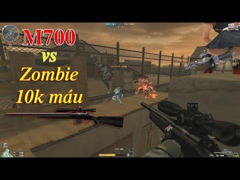Thử Thách Bắn M700 Với Zombie NANO Siêu Nhiều Máu. - Thời lượng: 14:28.
