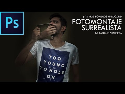 Tutorial Photoshop // MONTAJE SURREALISTA By @FabiPublicista