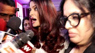 Video Aishwarya Rai Harassed By Media Reporters Publicly On Women's Day 2018 MP3, 3GP, MP4, WEBM, AVI, FLV April 2018