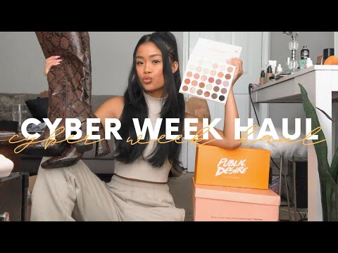 BLACK FRI/CYBER WEEK HAUL: WHAT I BOUGHT + WHAT YOU SHOULD GET!