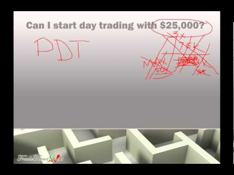 Pattern Day Trader Rule of $25,000