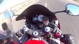 6. Yamaha R6 Breaks Top Speed - Hits 161 MPH (HD)