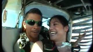 Diana goes SKY DIVING IN ARUBA!!!!!! It was my second jump from a plane - this time in a bikini, and from above the island of...