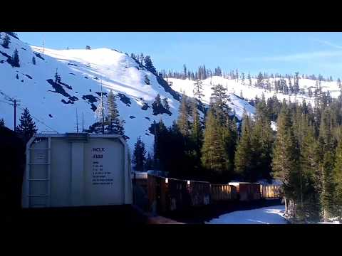 Climbing the California Mountains up Donner Pass