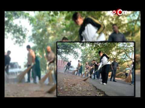Amitabh Bachchan joins  Clean India Campaign  for PM Narendra Modi 31 October 2014 08 PM
