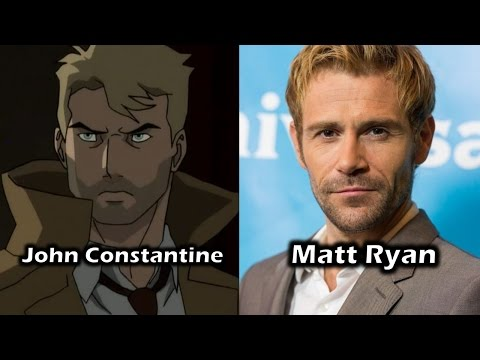 Characters and Voice Actors - Justice League Dark