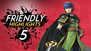 """Falcon, Cloud vs Greninja, Marth Highlight montage"""