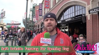 Salt from Karson & Kennedy hit the streets around Fenway Park to find fans, both Boston and Pittsburgh alike... Then he ran into Bobby from Chelsea.
