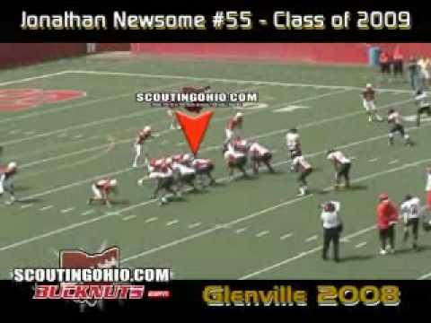 Jonathan Newsome 2008 High School Highlights video.