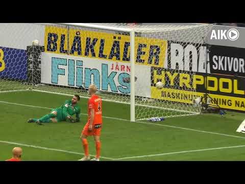 Sammandrag från AIK-AFC Eskilstuna 1-1