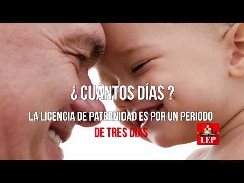 Licencia de paternidad es ley y empezará regir desde mañana