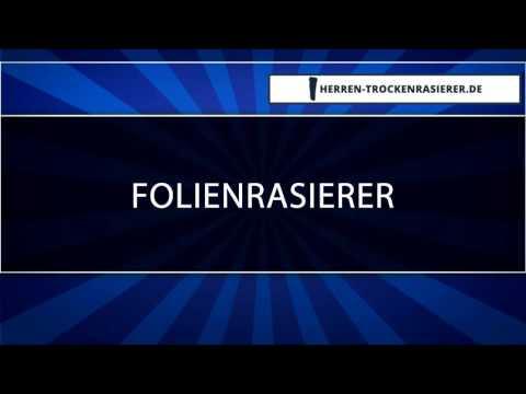 ▶ Folienrasierer - Was kann der? [HQ]