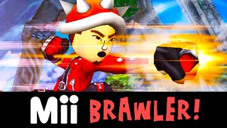 Have you guys seen how strong the Mii fighters special moves are? It's pretty ridiculous