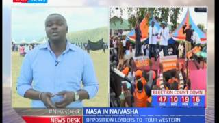 NASA in Jubilee's home turf : The opposition st to tour Naivasha SUBSCRIBE to our YouTube channel for more great videos: ...