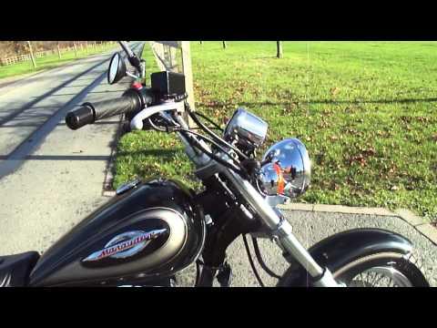 Suzuki GZ 125 ccm Marauder Dragstyl/Custom/Bobber/Chopper Build