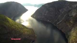 Laerdal Norway  city images : Norway,Laerdal.DJI Phantom 2