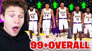 Video THE BEST NBA 2K19 TEAM POSSIBLE! ALL GALAXY OPAL MP3, 3GP, MP4, WEBM, AVI, FLV April 2019