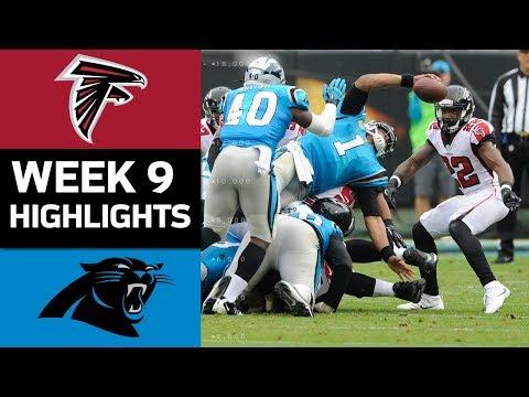 Falcons vs. Panthers | NFL Week 9 Game Highlights - Thời lượng: 8:43.