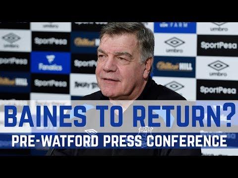Video: PRESS CONFERENCE: PRE-WATFORD
