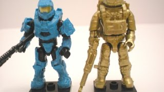 Halo and Call of Duty mega bloks 2014 SDCC exclusives review