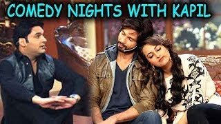 Comedy Nights with Kapil - Shahid Kapoor and Sonakshi Sinha on the sets : 7th December 2013