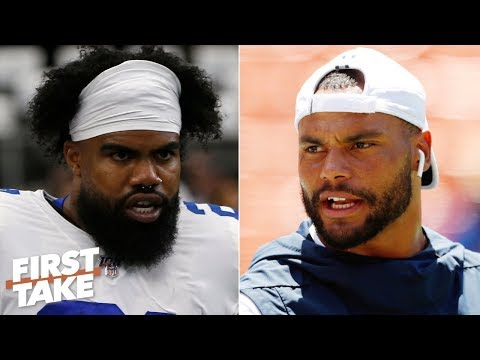 Video: The Cowboys' Super Bowl hopes rest on Dak and Zeke - Max Kellerman | First Take