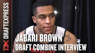 Jabari Brown Draft Combine Interview