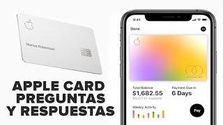 Apple Card: 7 preguntas y respuestas sobre la tarjeta de créditoApple Card: 7 preguntas y respuestas sobre la tarjeta de crédito