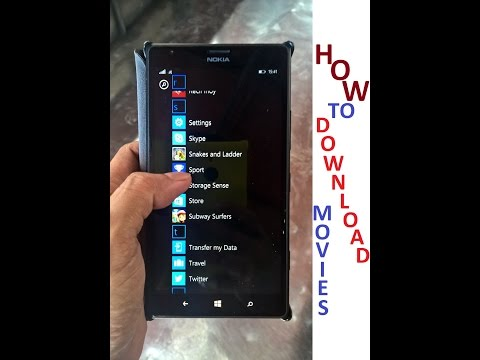 Video How To Download Movies on Windows Mobile Phones - app download in MP3, 3GP, MP4, WEBM, AVI, FLV January 2017